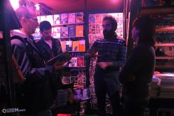 escritor-luciano-portela-escritora-camila-passatuto-escritor-andre-mellagi-e-cronista-e-livreiro-tarcisio-buenas-cemiterio-de-automoveis-buenas-bookstore