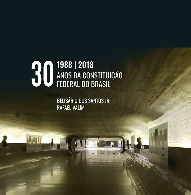 livro 1988 - 2018 30 Anos da Constituição Federal do Brasil